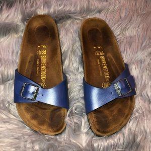 birkenstock madrid sandal purple Size 38